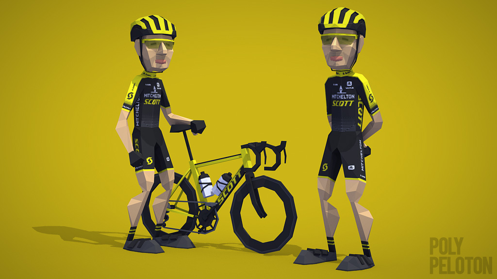 abbigliamento ciclismo mitchelton scott