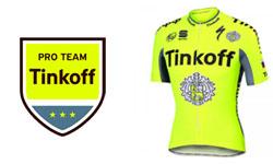 Abbigliamento ciclismo Tinkoff su itabbigliamentociclismo.com